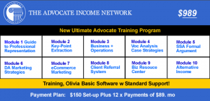 Advocate Basic Training program