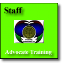Staff Advocate Training