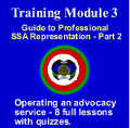 Module 3 - Advocate Training